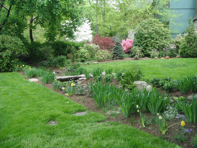 English Country Garden Design in Westport, Connecticut by Growing ...