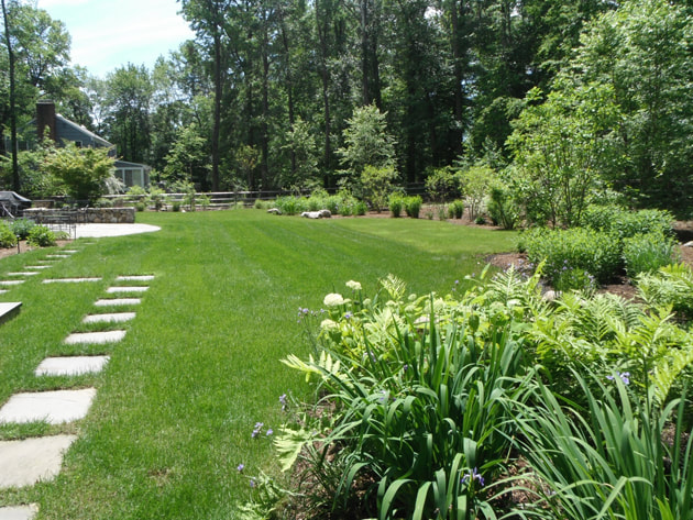new canaan landscape design